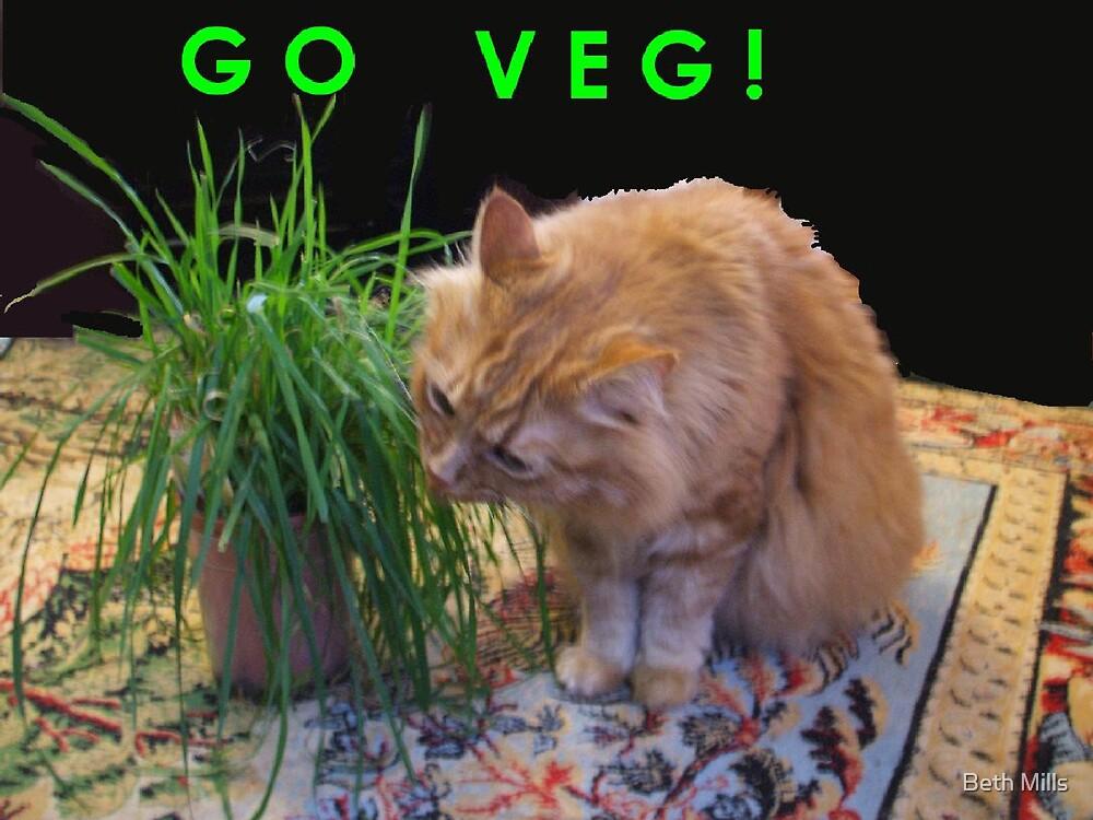 Go Veg! by Beth Mills
