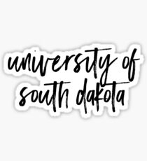University of South Dakota Sticker