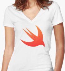 Swift Women's Fitted V-Neck T-Shirt