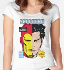 Spoonman Women's Fitted Scoop T-Shirt