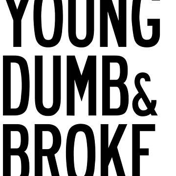 KHALID YOUNG DUMB & BROKE LYRICS by annacush