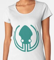 GitKraken is the most popular Git GUI for Windows, Mac and Linux.  Women's Premium T-Shirt