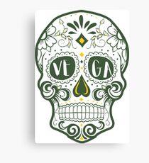 Vega Skull Canvas Print