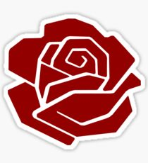 Democratic Socialist Rose DSA Sticker