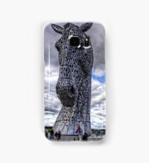 Kelpies under Rain Clouds Samsung Galaxy Case/Skin
