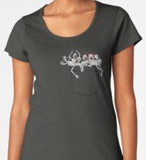 Pocket messengers from Bloodborne  Women's Premium T-Shirt