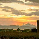 Rocky Mountain Front Range Country Landscape by Bo Insogna