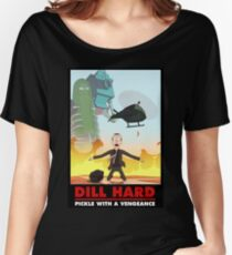 Rick & Morty - Dill Hard Women's Relaxed Fit T-Shirt