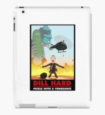 Rick & Morty - Dill Hard iPad Case/Skin