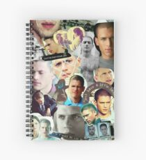 Michael Scofield Spiral Notebook