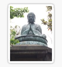 Buddha Statue - Tokyo, Japan Sticker