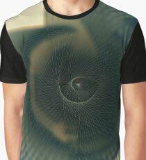 Geometric Nautilus Sublime Design Graphic T-Shirt