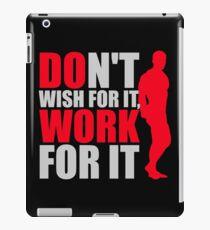 Vinilo o funda para iPad No lo desees, trabaja para ello