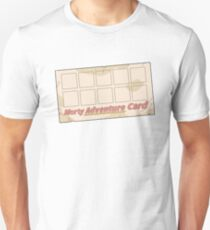Rick and Morty – Blank Morty Adventure Card with Stickers T-Shirt