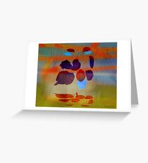 Magritte stung by summer Greeting Card