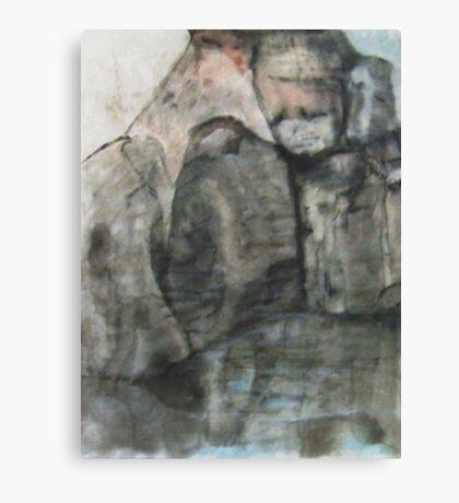 Crying Rocks Canvas Print
