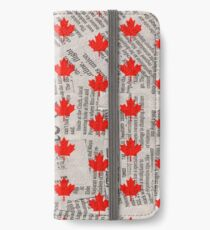 CANADA 2 iPhone Wallet/Case/Skin