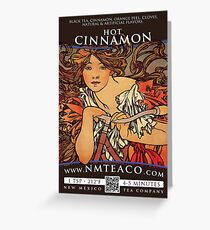 Hot Cinnamon Spice Greeting Card