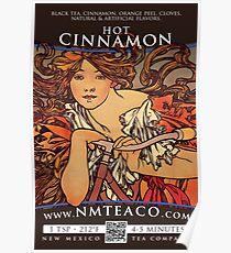 Hot Cinnamon Spice Poster