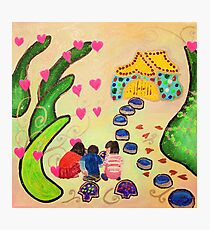 Friends in Fairyland Photographic Print