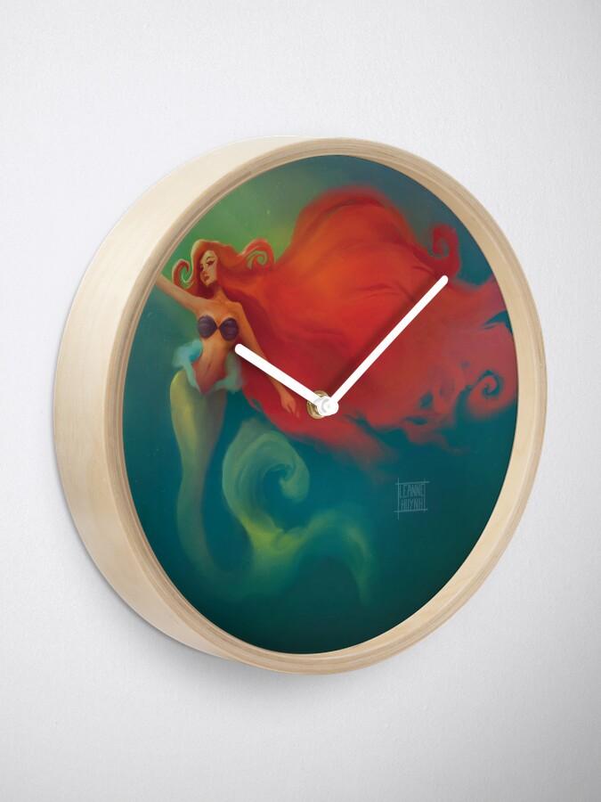 Alternate view of Mermaid Clock