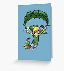 Tarjeta de felicitación Legend Of Zelda - Volando lejos