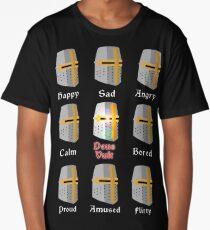 Deus Vult Expressions Long T-Shirt