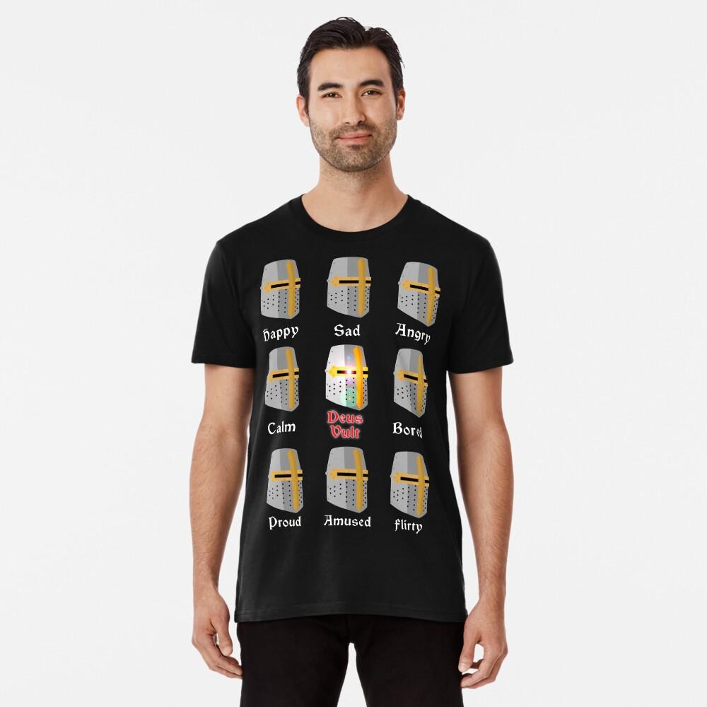 Deus Vult Expressions Camiseta premium