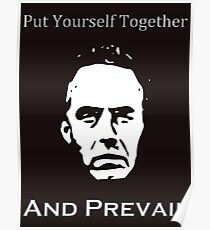 Jordan Peterson Put Yourself Together And Prevail Poster