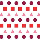 Dots, Squares, & Triangles by Annie Webster