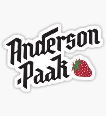 Anderson Paak Sticker