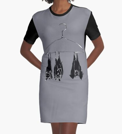 fruitbats in the closet Graphic T-Shirt Dress