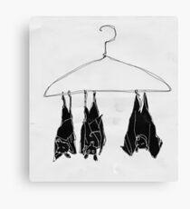 fruitbats in the closet Canvas Print