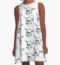 Ein Auto, eine Fackel, ein Tod - Design # 2 A-Linien Kleid