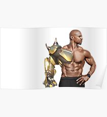 Terry Crews Doomfist Poster
