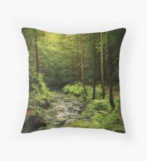 Loki's Forest Throw Pillow