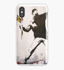 Banksy - Art Attack  iPhone Case