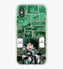 Izuku Midoriya Phone Background by KarlMoose iPhone Case
