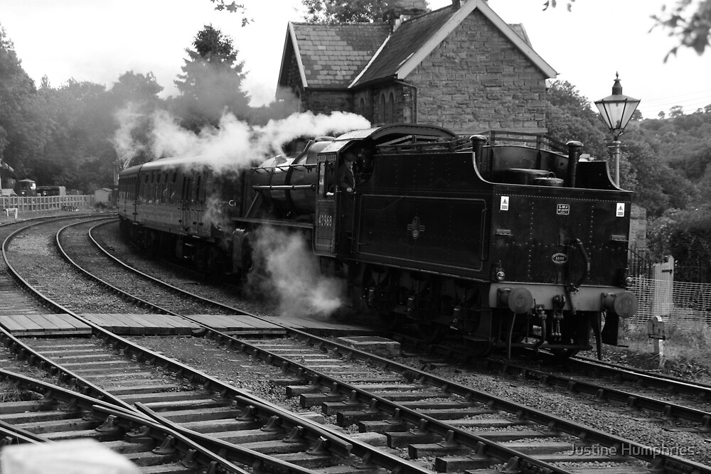 Full Steam Ahead by Justine Humphries