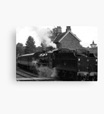 Highley Station - Severn Valley Railway Canvas Print