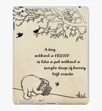 Winnie the Pooh - A Day Without a Friend iPad Case/Skin