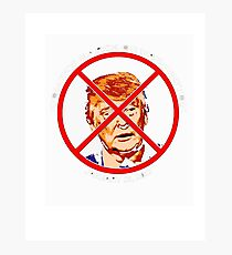 Sorry About Our President T-Shirt Anti Trump Funny Multiple Photographic Print