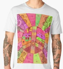 Rainbow Of Peace And Love Men's Premium T-Shirt