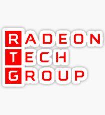 AMD RTG | Radeon Technologies Group Sticker