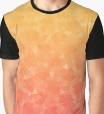 Ombre Orange Graphic T-Shirt
