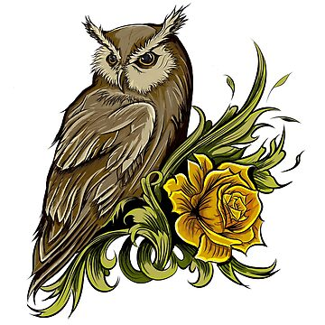 Wise Morning Owl by Nocturnalcultur