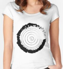 Rustic Target Women's Fitted Scoop T-Shirt