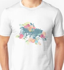 Rustic Western floral wagon T-Shirt