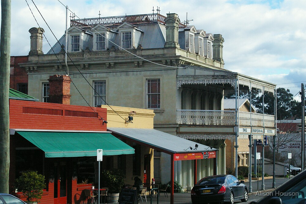 Streetscape, Castlemaine VIC by Alison Howson