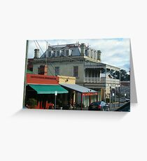 Streetscape, Castlemaine VIC Greeting Card